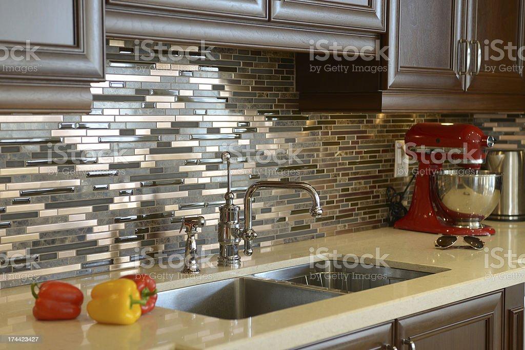 Luxury Kitchen Detail stock photo
