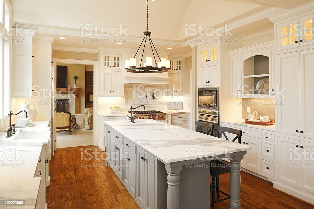 Luxury Kitchen stock photo