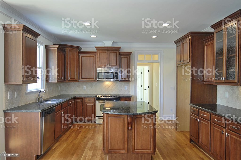 Luxury Kitchen royalty-free stock photo