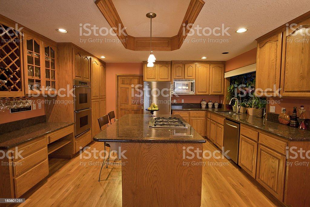 Luxury Kitchen stock photo