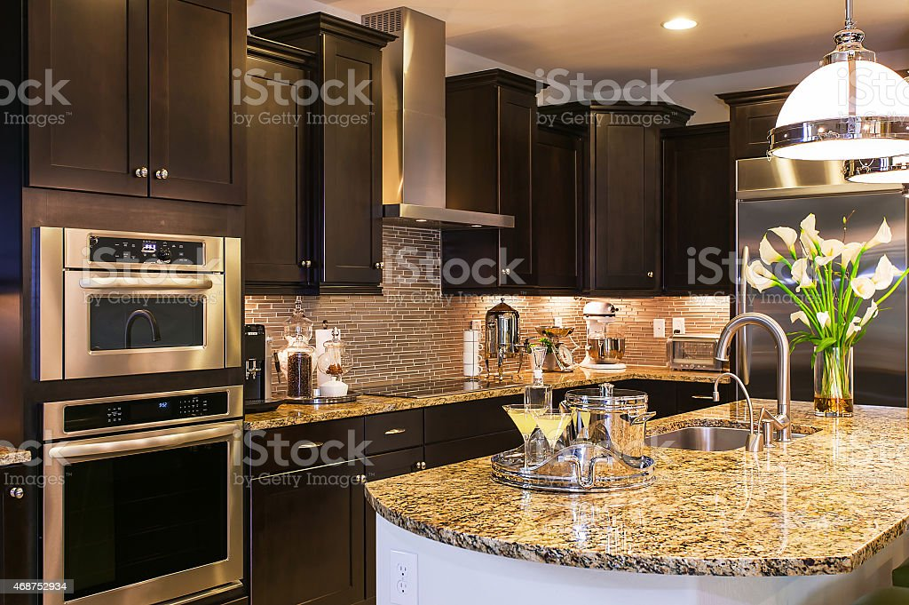 Luxury Kitchen Upclose stock photo
