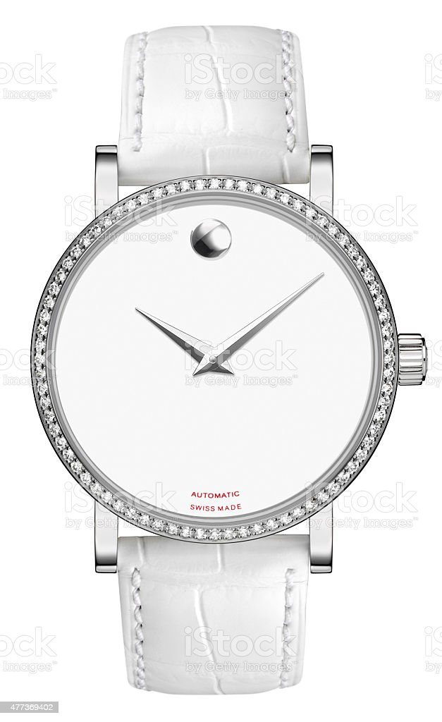 Luxury Ladies Wristwatch stock photo