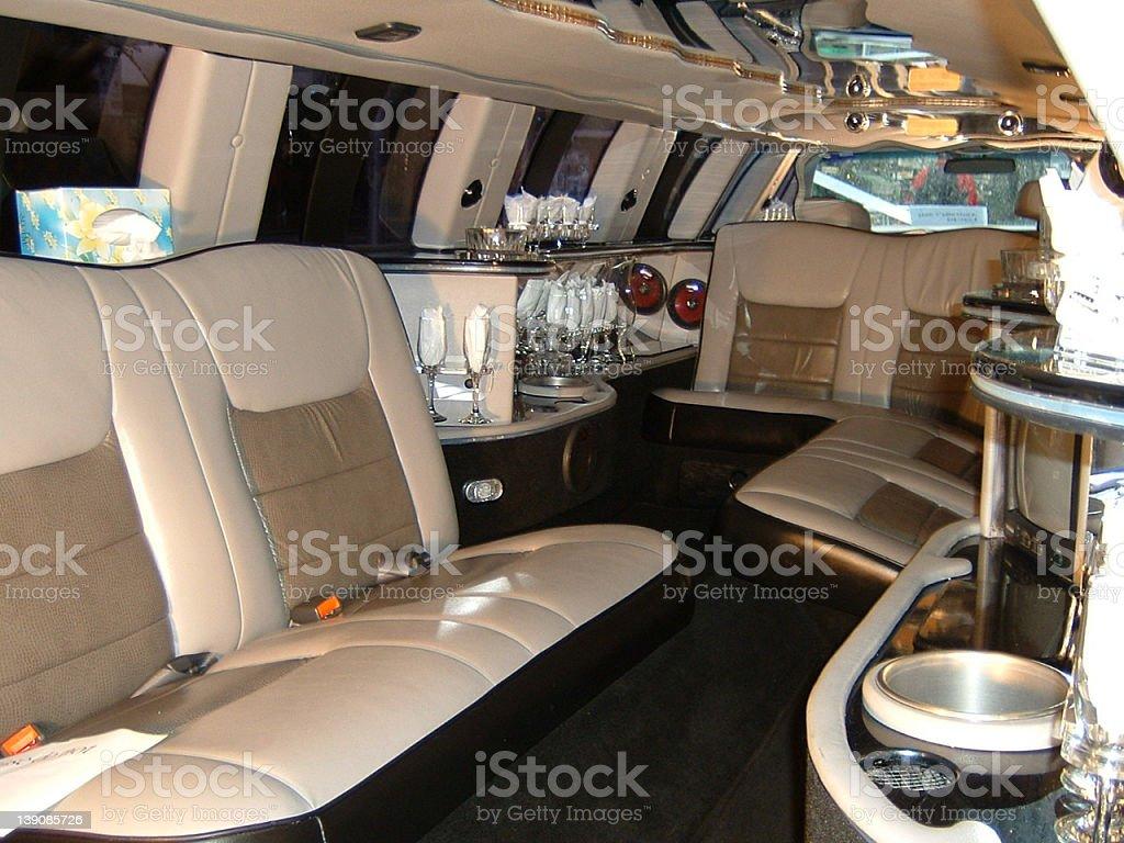 Luxury Limo (Interior) royalty-free stock photo