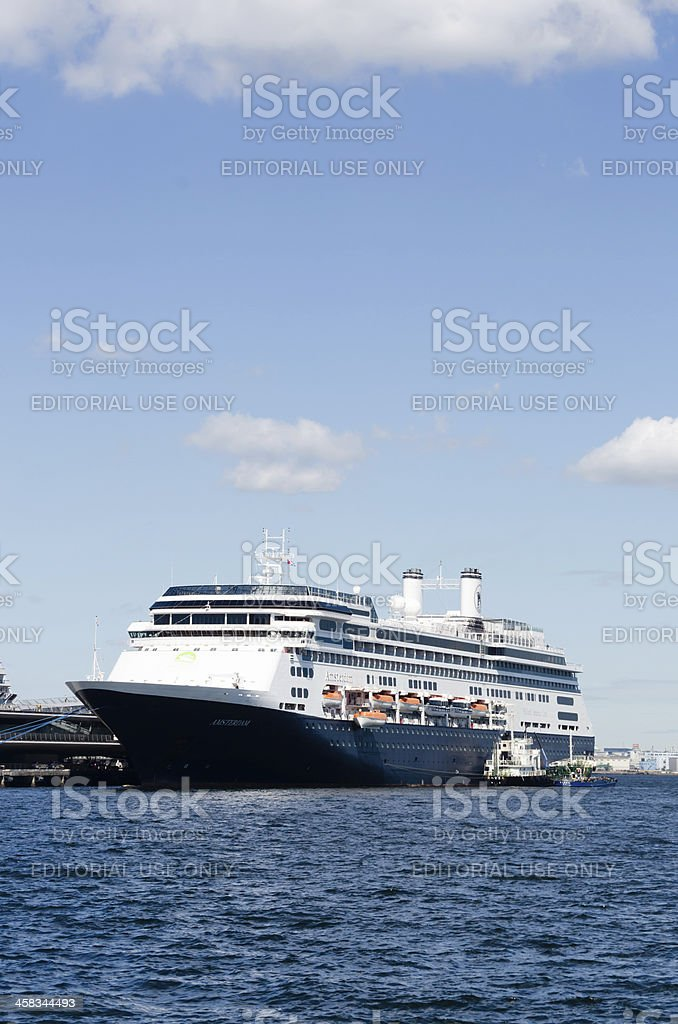Luxury liner Amsterdam royalty-free stock photo