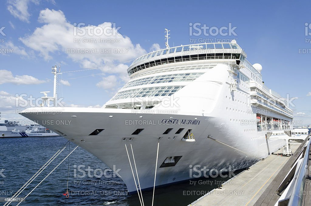Luxury liner Costa Victoria royalty-free stock photo