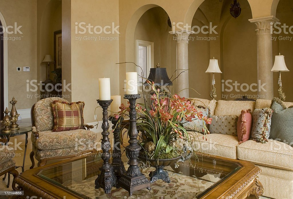 Luxury Living royalty-free stock photo