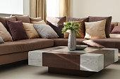 Luxury living room closeup