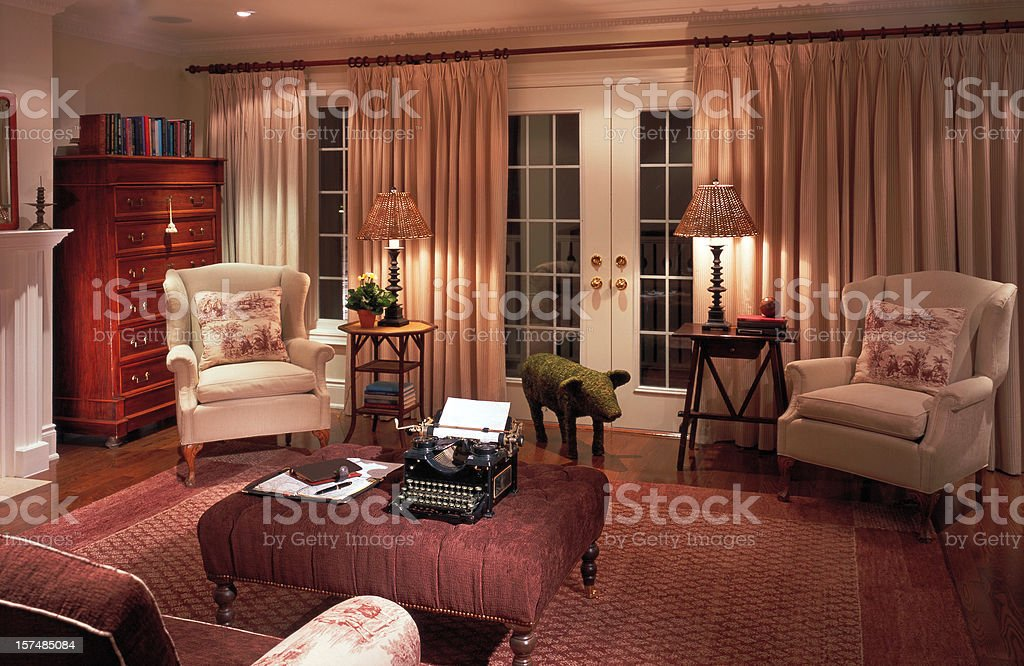 Luxury Living Room royalty-free stock photo