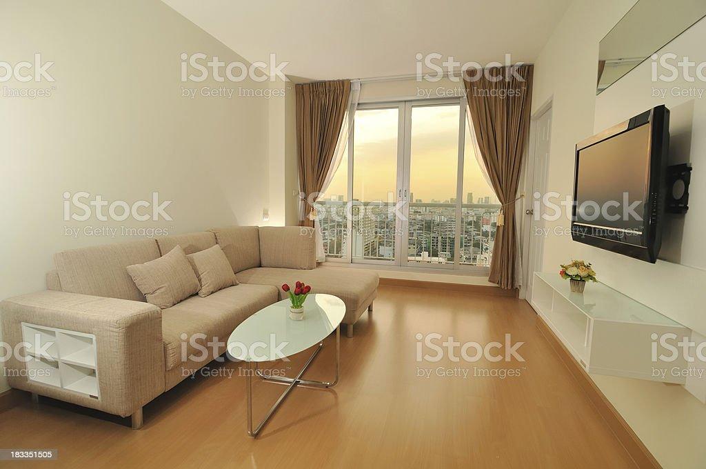Luxury living room showcase interior royalty-free stock photo
