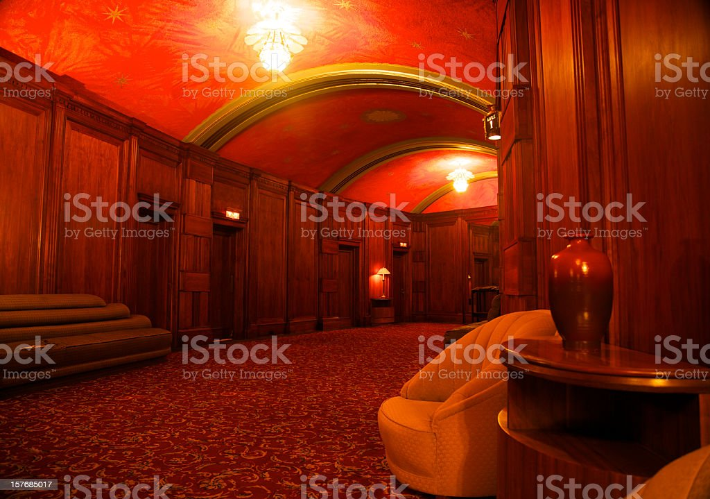 Luxury Lobby stock photo
