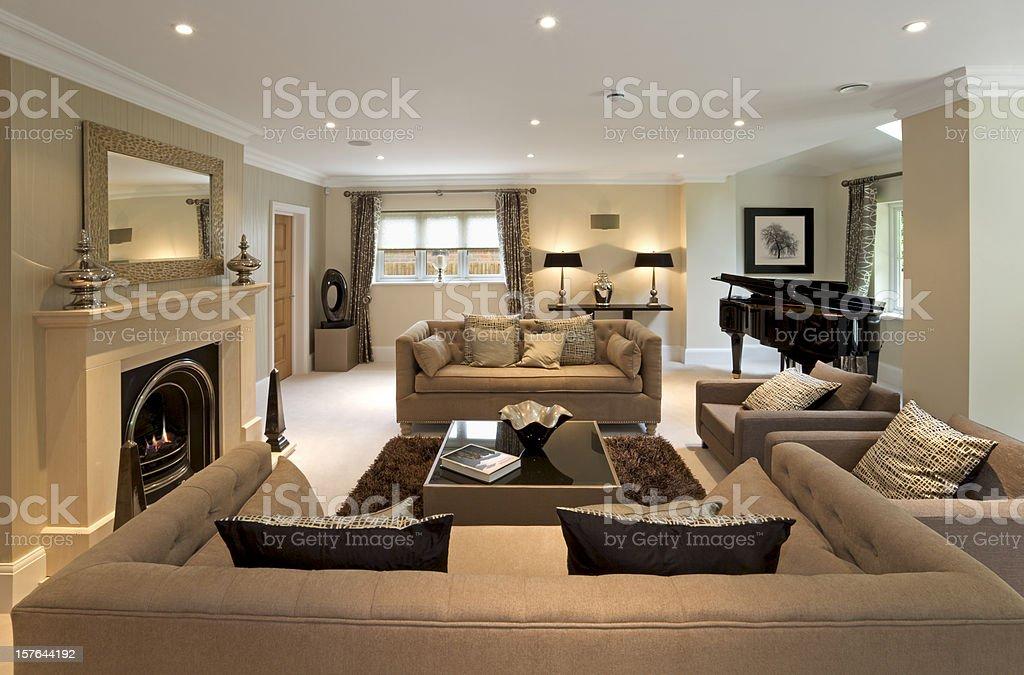 luxury lounge royalty-free stock photo