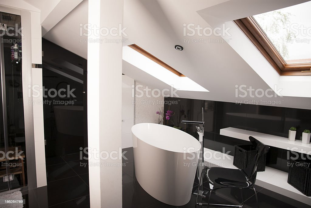 Luxury Master Bathroom royalty-free stock photo