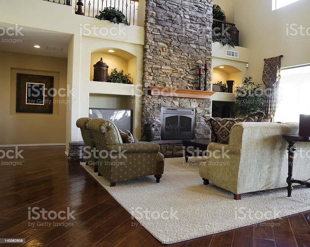 Luxury Modern Home royalty-free stock photo