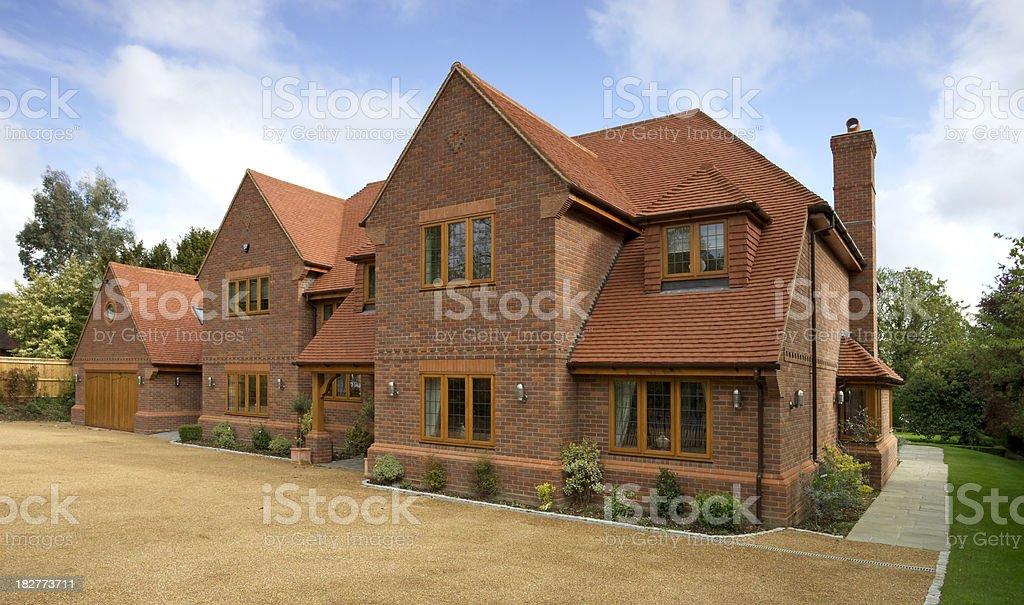 luxury new house royalty-free stock photo