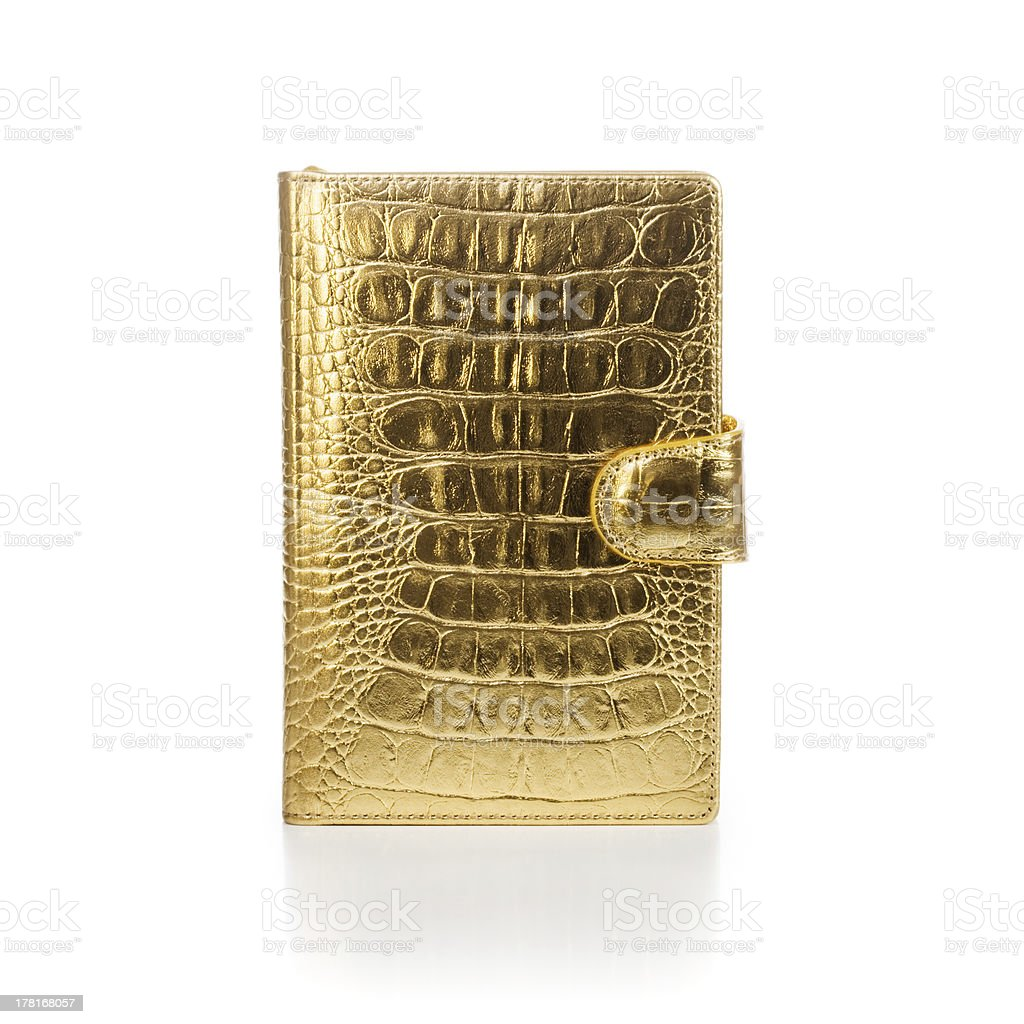 Luxury Notebook stock photo