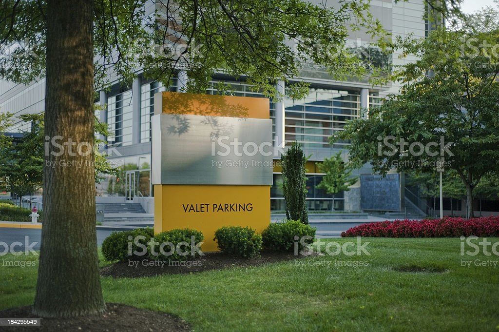 Luxury office name marker royalty-free stock photo