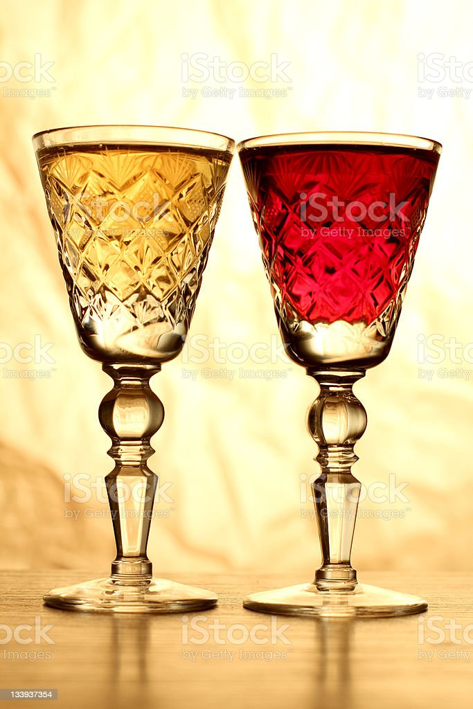 Luxury old glasses royalty-free stock photo
