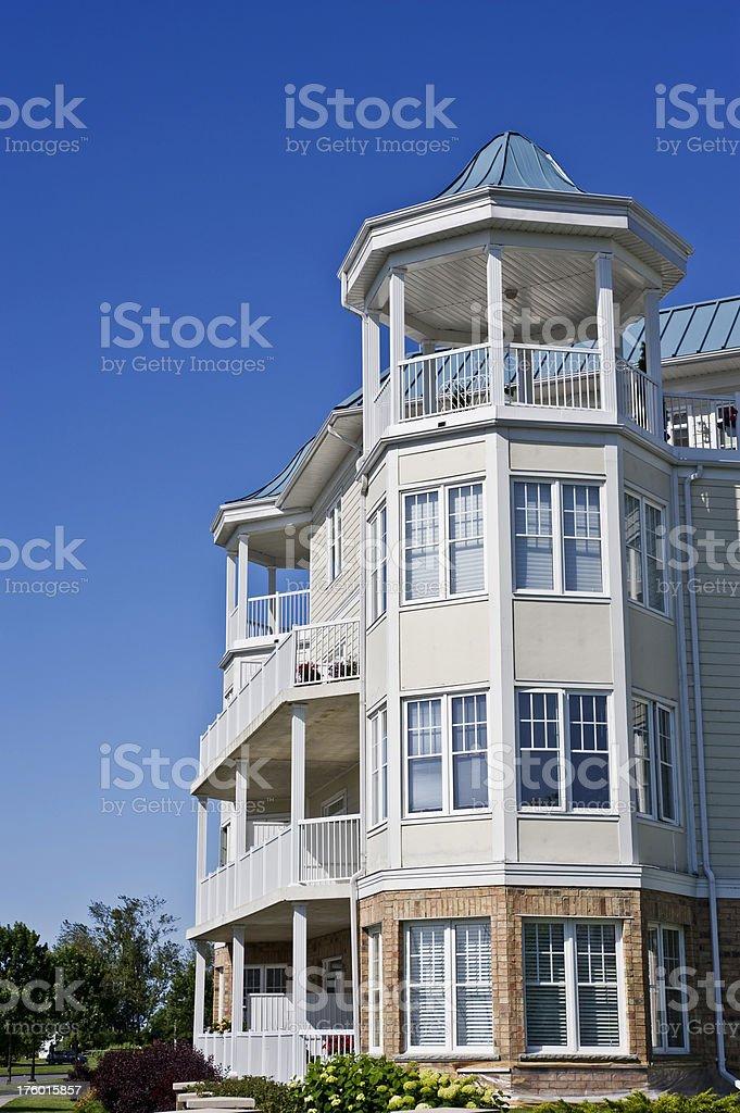 Luxury on the Waterfront stock photo