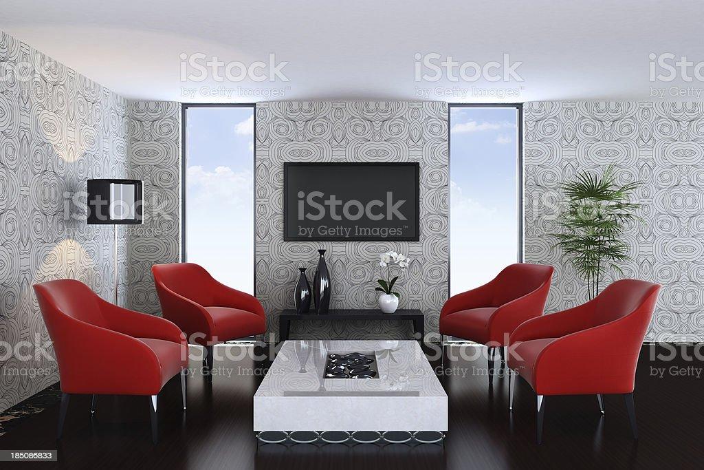 Luxury Penthouse royalty-free stock photo