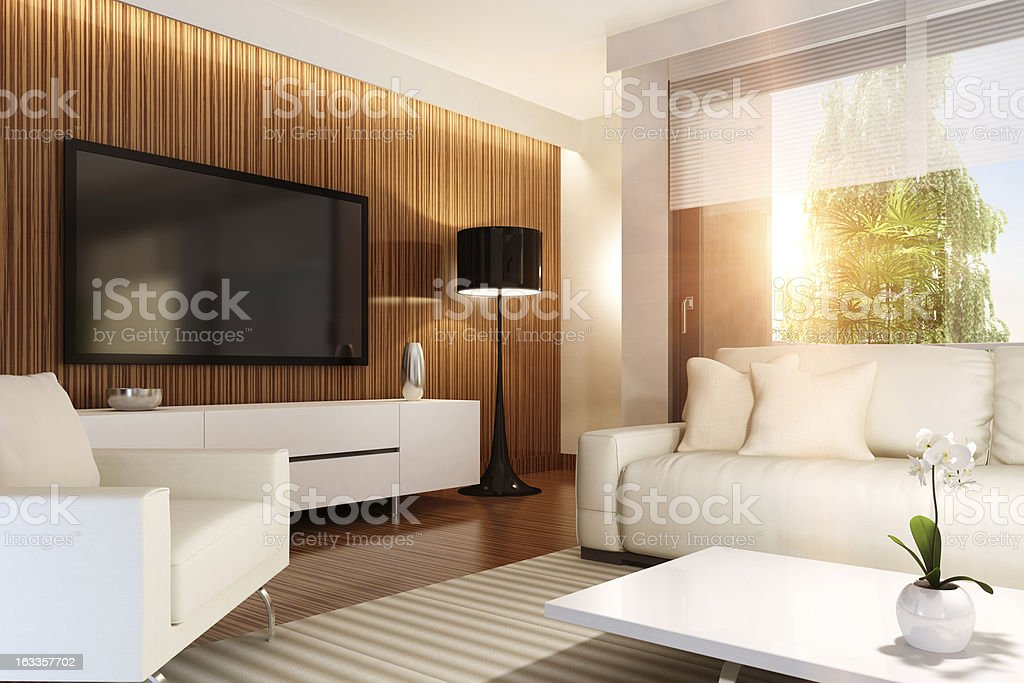 Luxury Penthouse Summer Concept stock photo