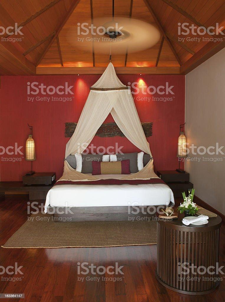 Luxury President Suite Bungalow (XXXL) royalty-free stock photo