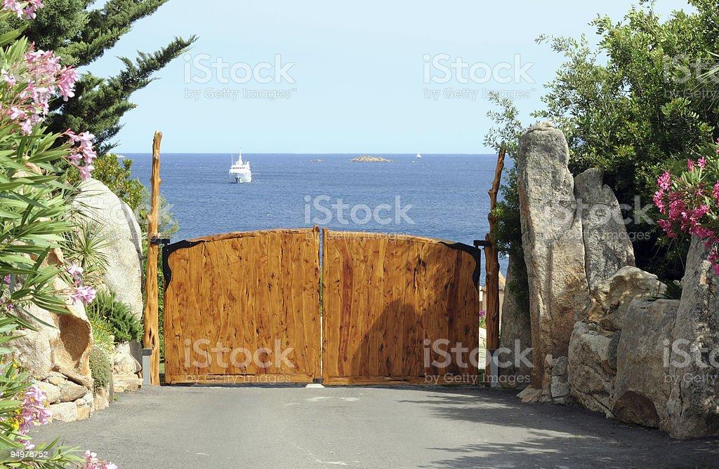 luxury residence royalty-free stock photo