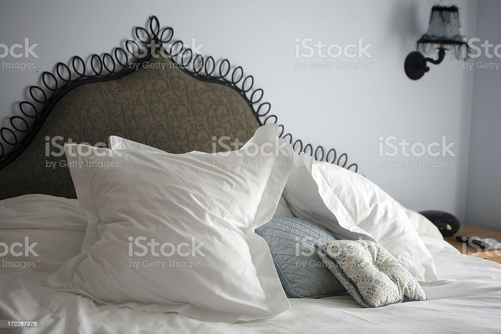 Luxury resort - bedroom royalty-free stock photo