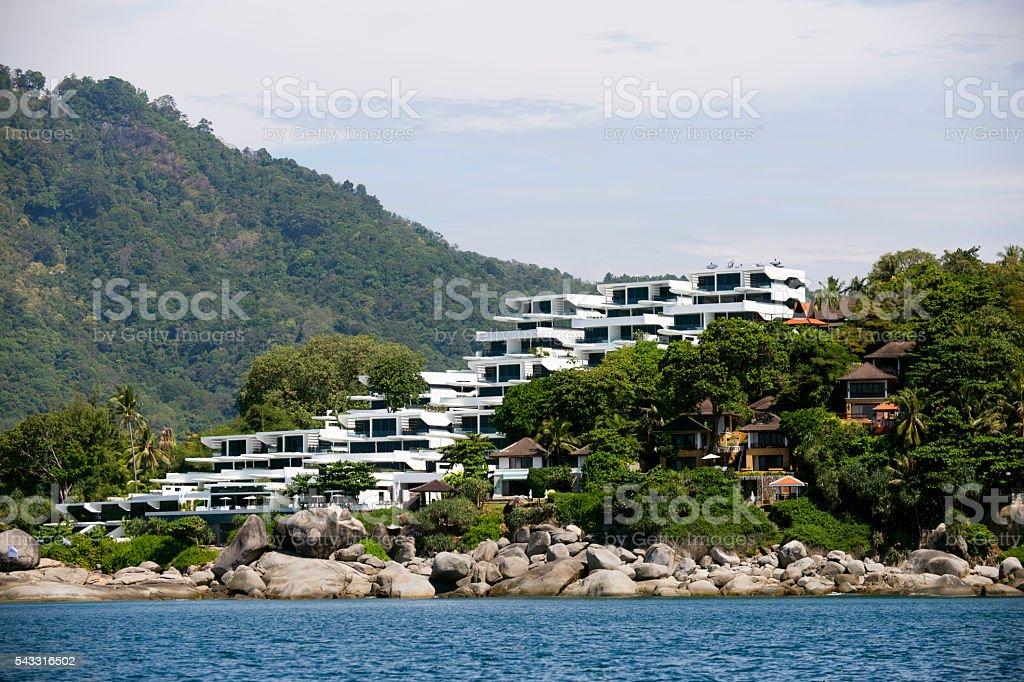 Luxury Resort Hotel Phuket stock photo