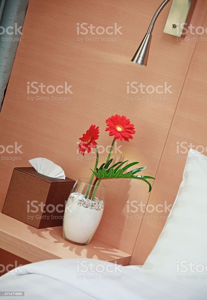 Luxury Resort Hotel Room Decoration royalty-free stock photo