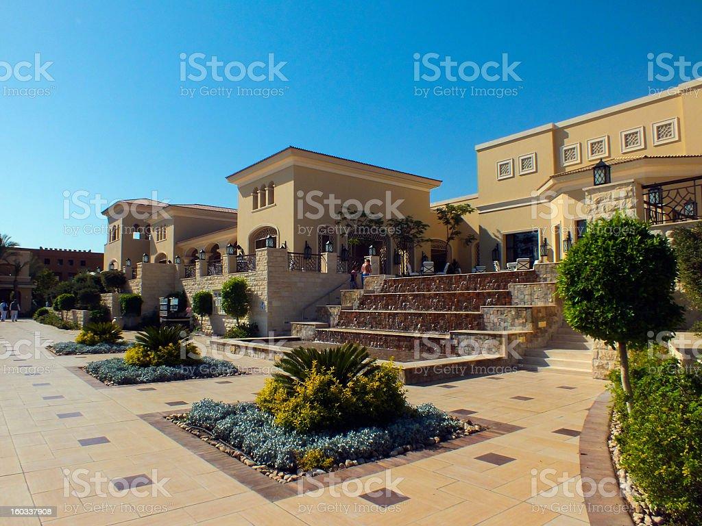 Luxury resort royalty-free stock photo
