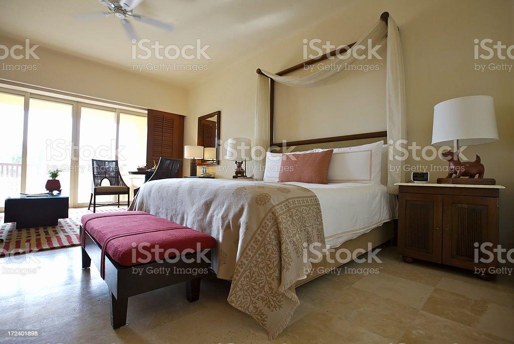 luxury resort suite royalty-free stock photo
