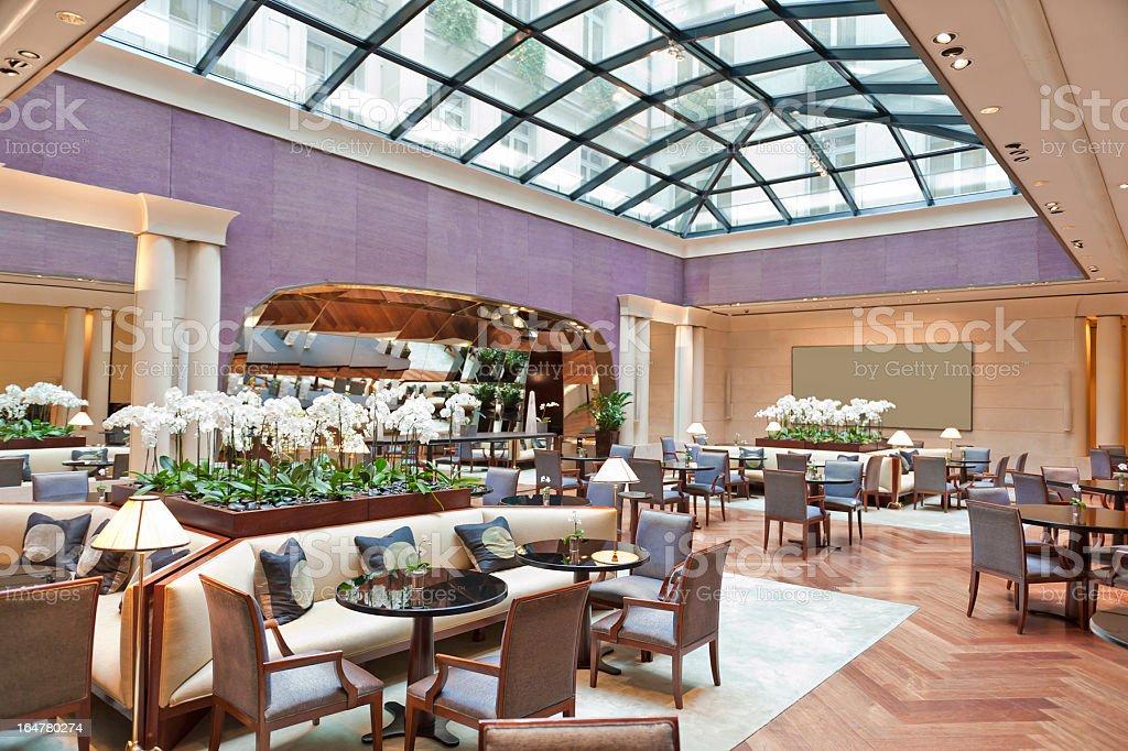 Luxury Restaurant royalty-free stock photo