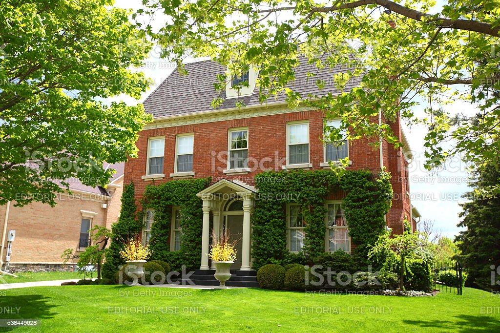 Luxury Richmond Hill real estate stock photo