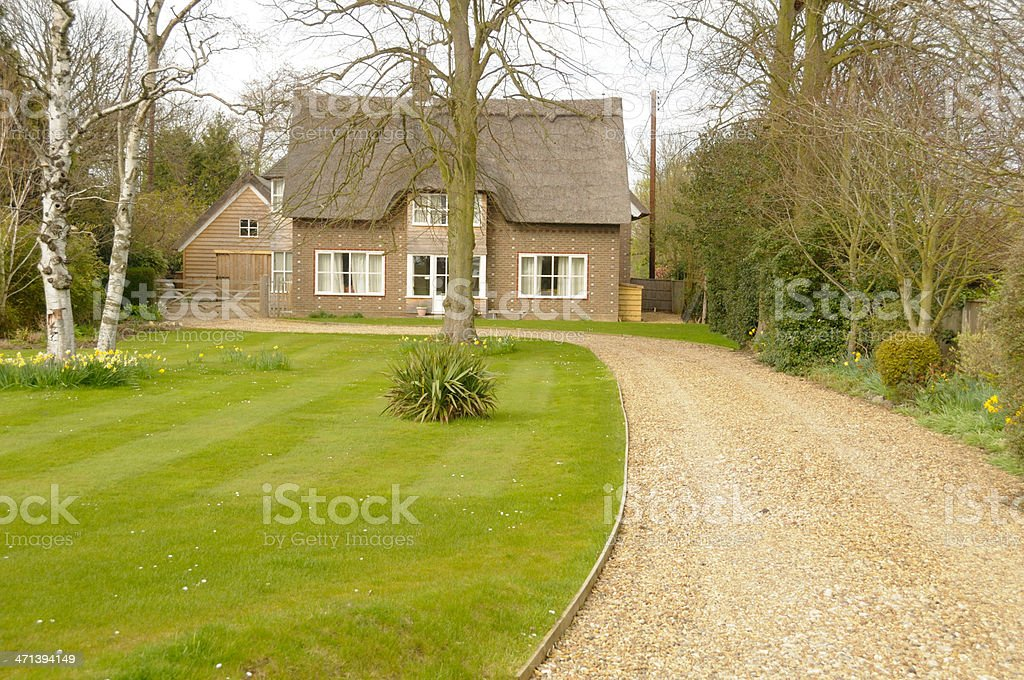 Luxury Rural Home royalty-free stock photo