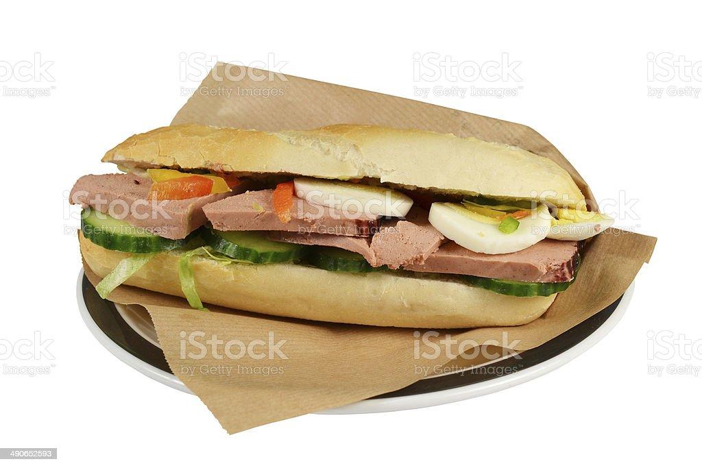 高級サンドイッチます。 ロイヤリティフリーストックフォト