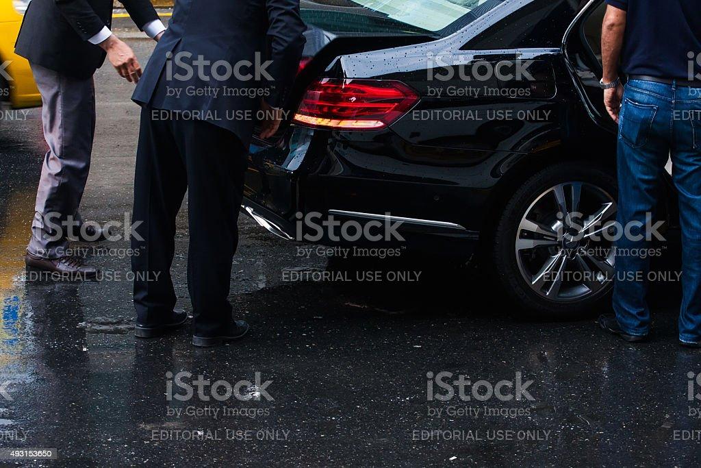 luxury service stock photo