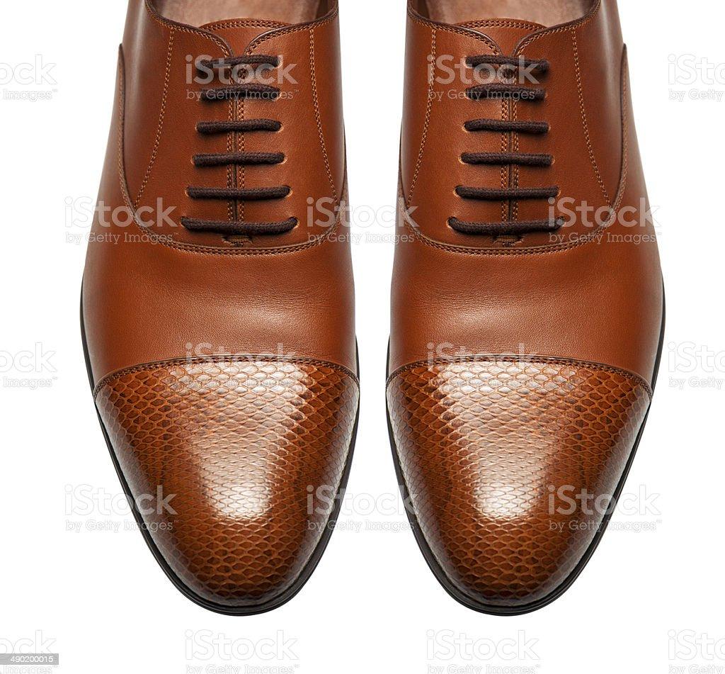Luxury shoes stock photo