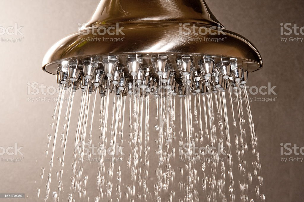 Luxury Shower Head royalty-free stock photo