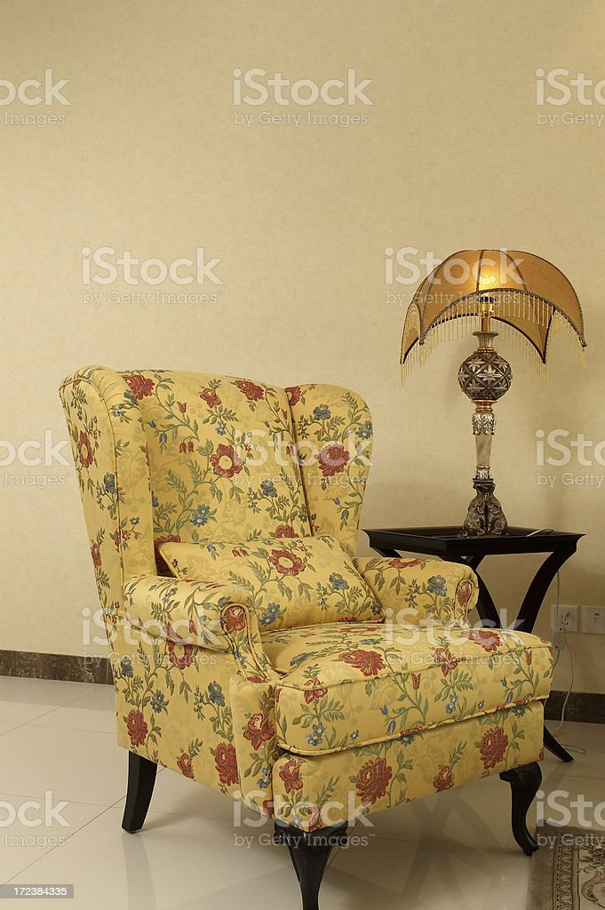 Luxury Sofa and lamp in Living Room