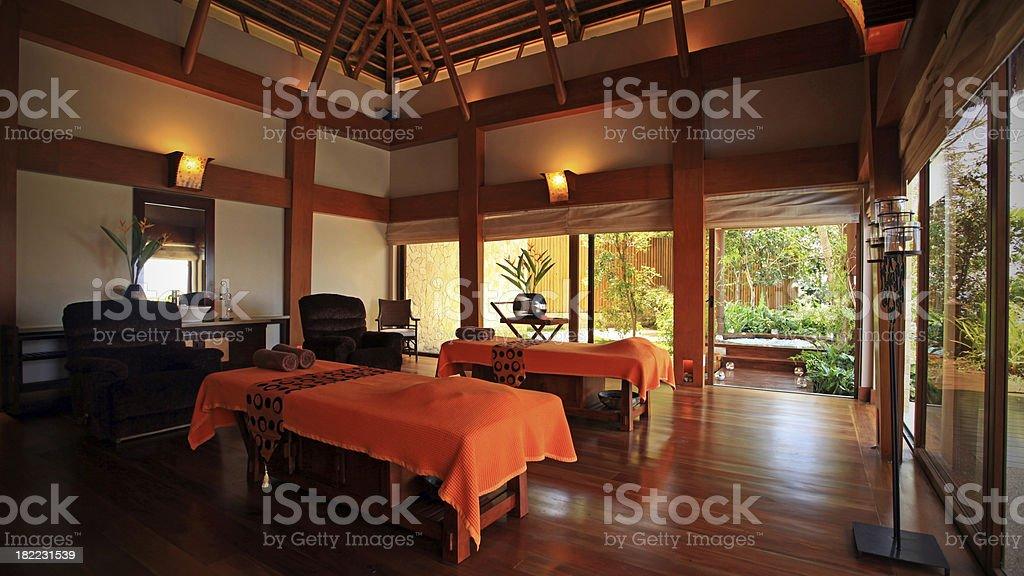 Luxury Spa at Zen Beach Resort stock photo