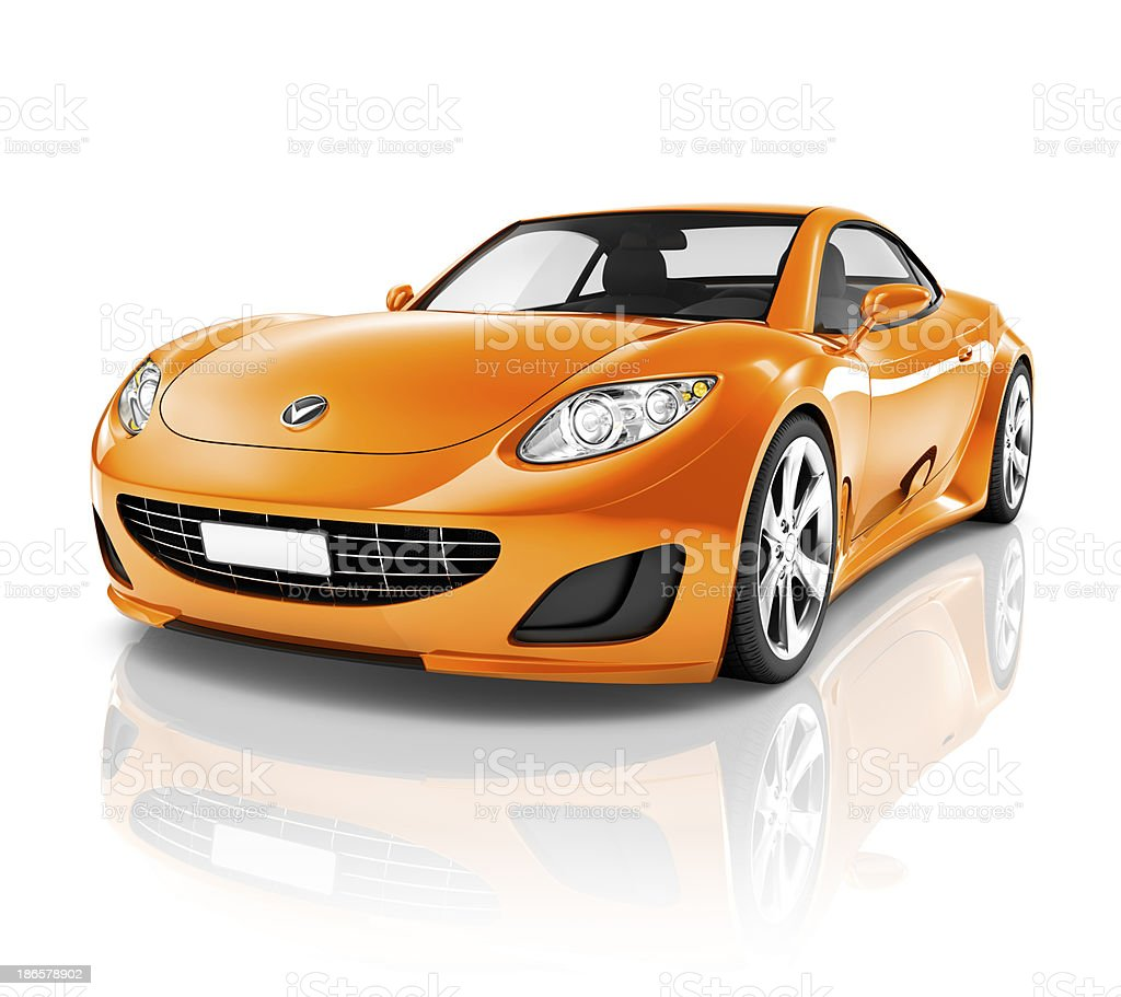 Luxury Sport Car stock photo