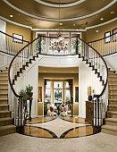 Luxury Stair Entry Interior Home Design