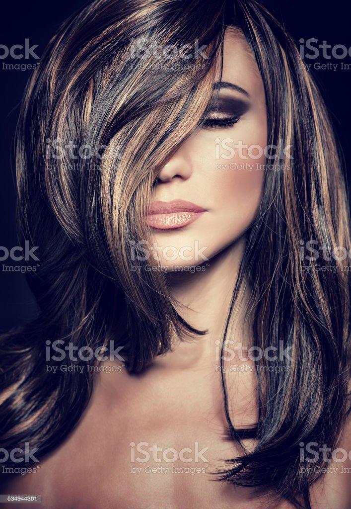 Luxury supermodel stock photo