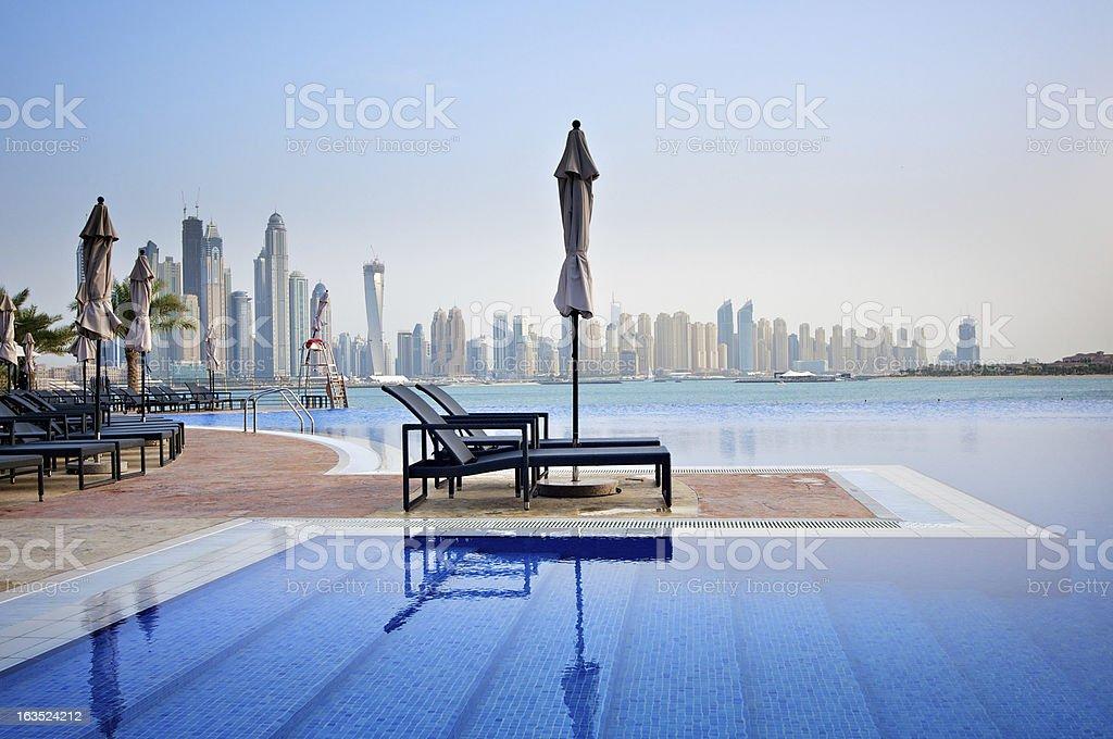 Luxury Swimming Pool royalty-free stock photo