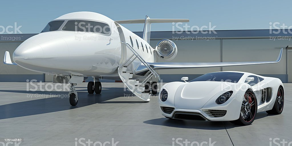 Luxury Travel royalty-free stock photo