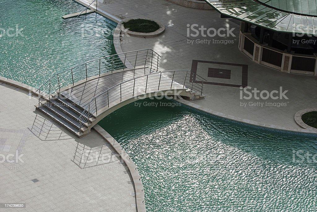 Luxury vacation resort royalty-free stock photo