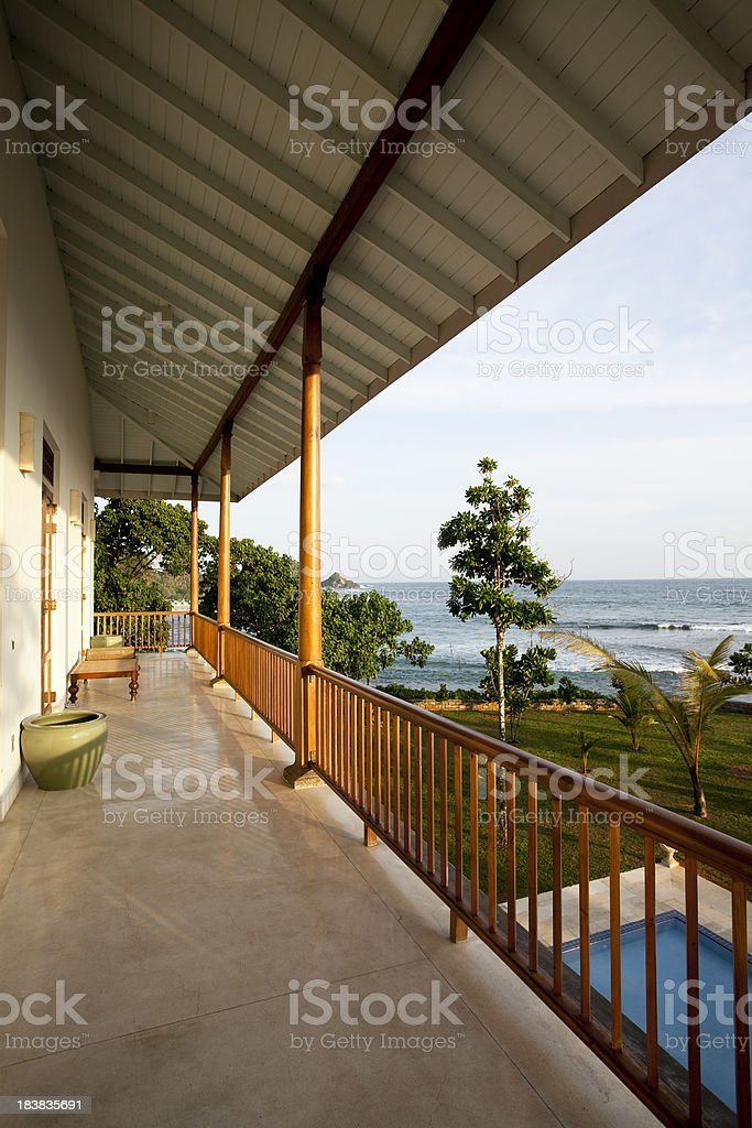 luxury villa royalty-free stock photo