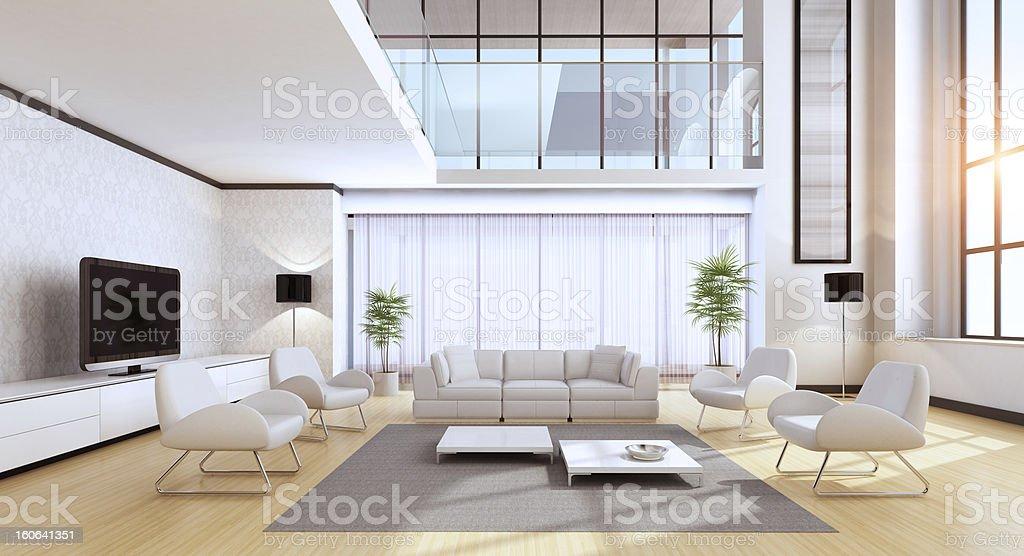 Luxury VIlla Summer royalty-free stock photo
