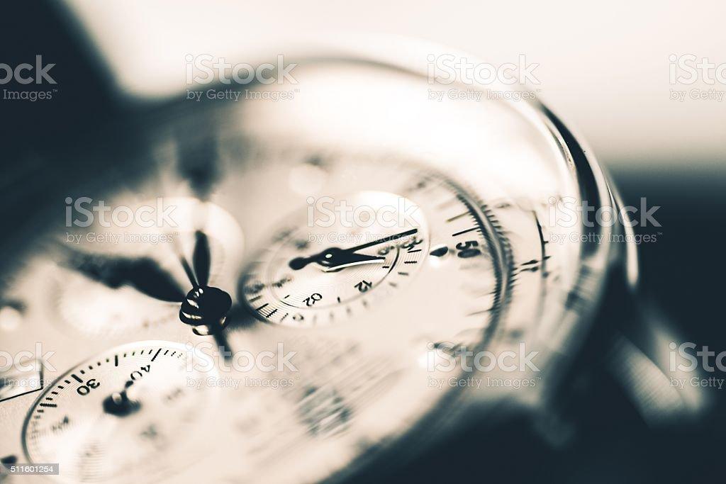 Luxury Watch Closeup stock photo