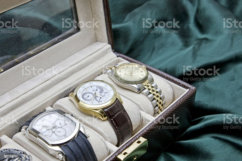 Luxury Watches royalty-free stock photo